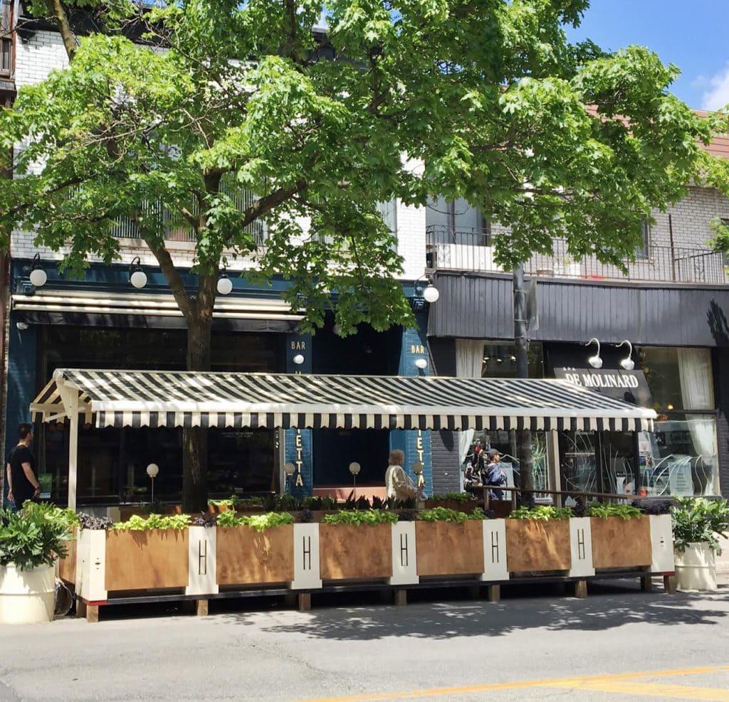 plus belles terrasses montreal boire verre