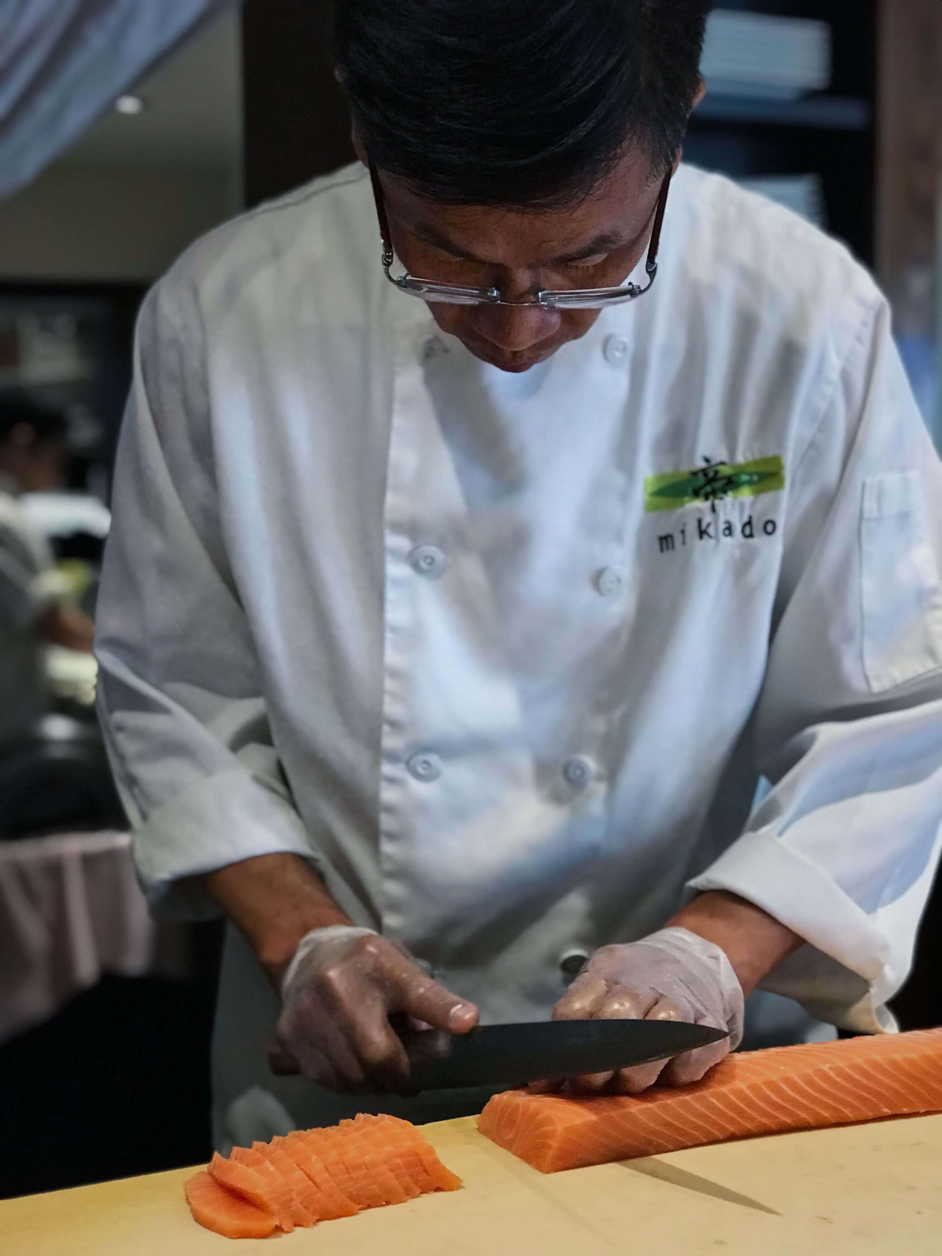 Mikado restaurant sushi laurier monkland montreal